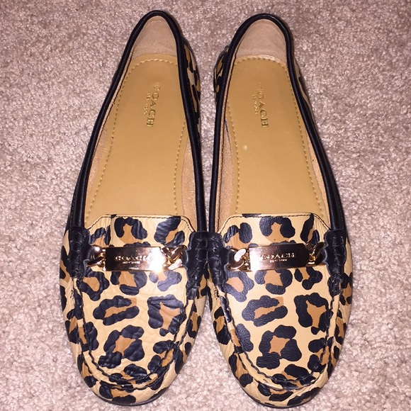 Coach Shoes | Brand New Leopard Loafers